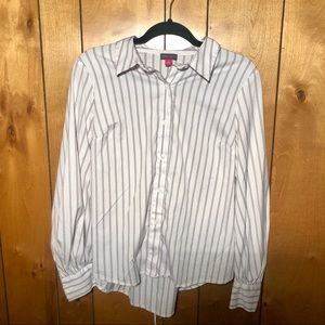 Vince Camuto - Long Sleeve Striped Button Down